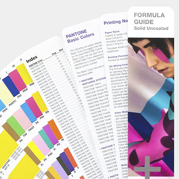 Pantone Coated & Uncoated GP1601N Formula Guide, Standard Set