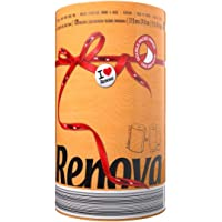 Renova Rollos de Cocina Red Label Naranja Triple