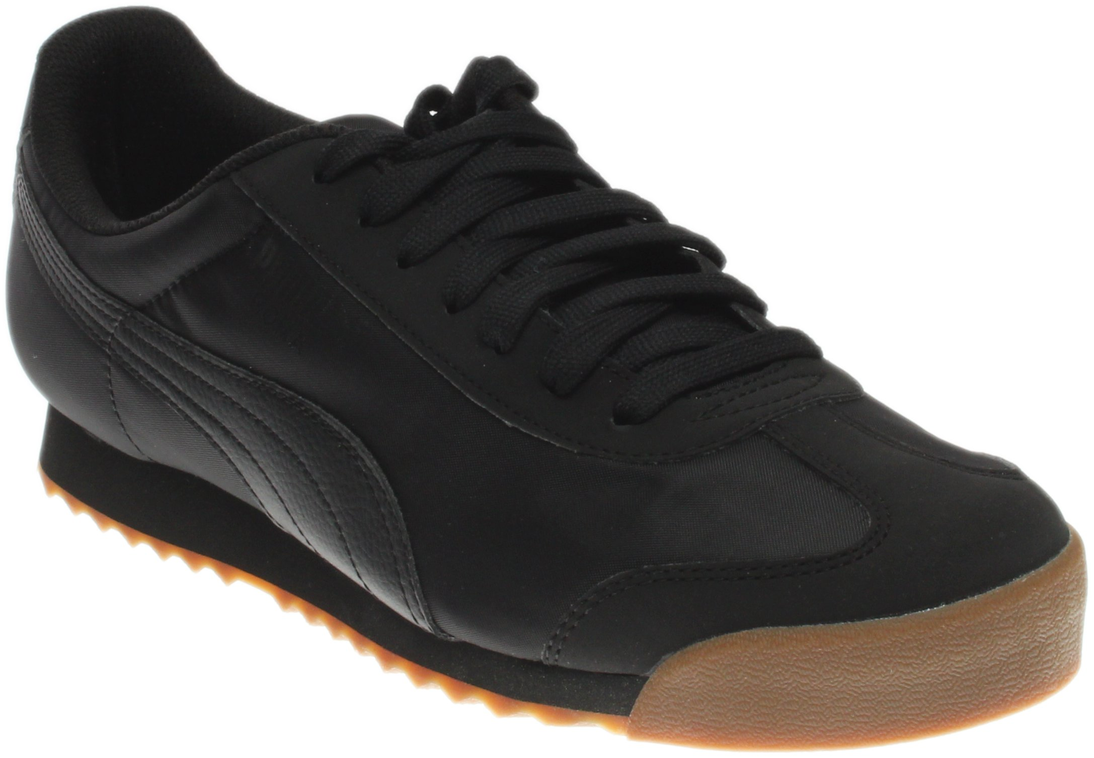 PUMA Men's Roma Basic Summer Fashion Sneaker, Black, 11 M US