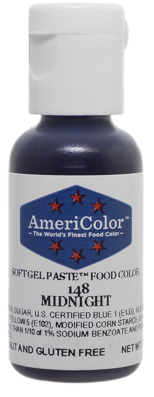 Americolor Soft Gel Paste Food Color, Midnight, .75 Ounce Bottle