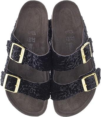 Banco Promesa Sembrar  Birkenstock - Pantuflas Mujer , color Negro, talla 38: Amazon.es: Zapatos y  complementos