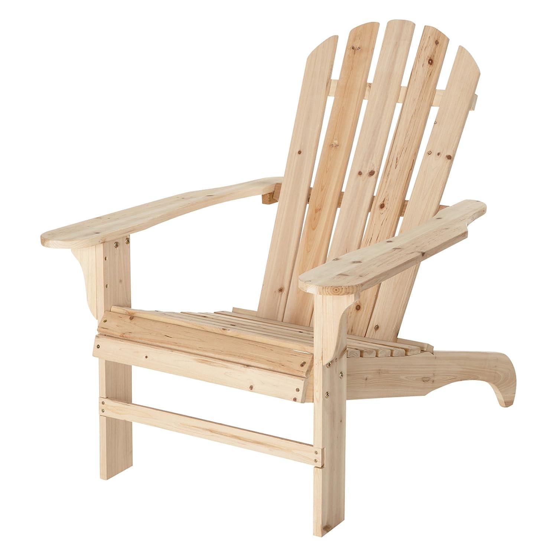 Amazon Cedar Fir Adirondack Chair 35 3 4in L x 30 1 2in W