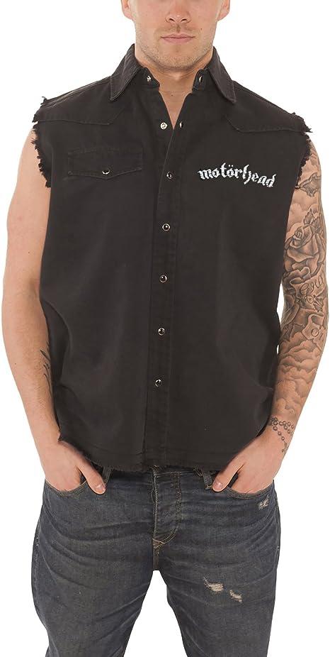 NEW /& OFFICIAL! Motorhead /'England/' Sleeveless Work Shirt