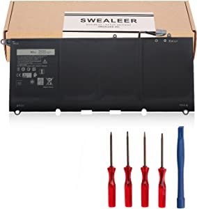 SWEALEER Compatible PW23Y RNP72 TP1GT Battery if Applicable Dell XPS 13 9360 13-9360-D1605G Notebook Replacement for 0RNP72 0TP1GT Laptop Batteries [New Li-ion 4 Cell 7.6V 60Wh PW23Y]