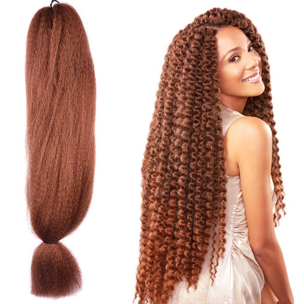Outlet 48 Inch Braiding Hair Kanekalon Crochet Braids Synthetic Hair
