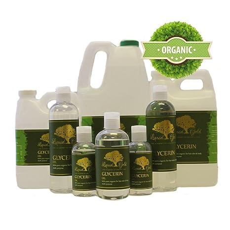 Amazon.com: 10 Lb Premium Glicerina/Glycerin vegetales USP ...