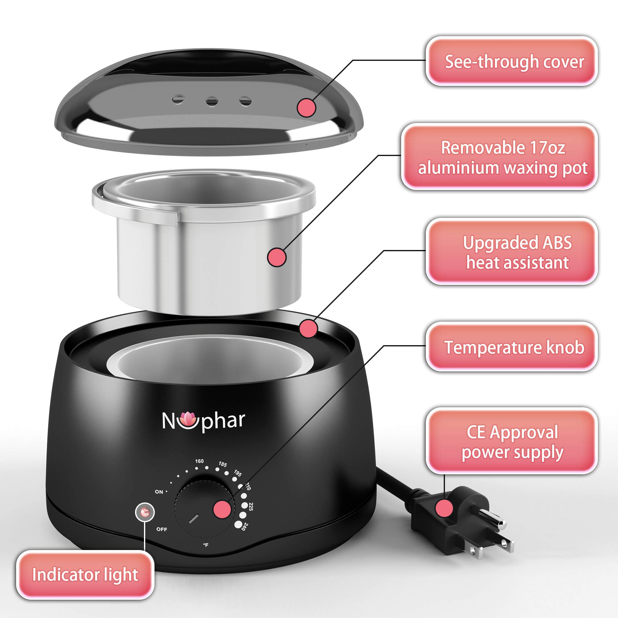 【Gifts for Her】Wax Warmer, Professional Hair Removal