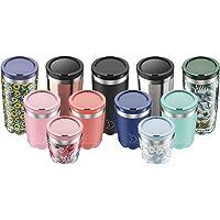Taza Chilly's de Viaje aislada | Tazas de café de Doble Pared con Tapas | Acero Inoxidable | El Logo del Producto Recibido Puede Variar
