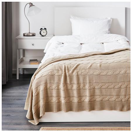 URSULA Throw - beige - IKEA