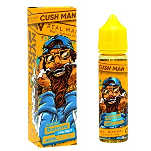 Nasty Juice Premium e-Liquid Cush Man - Mango Banana, Shake-and-Vape für Ihre e-Zigarette, 0.0 mg Nikotin, 50 ml