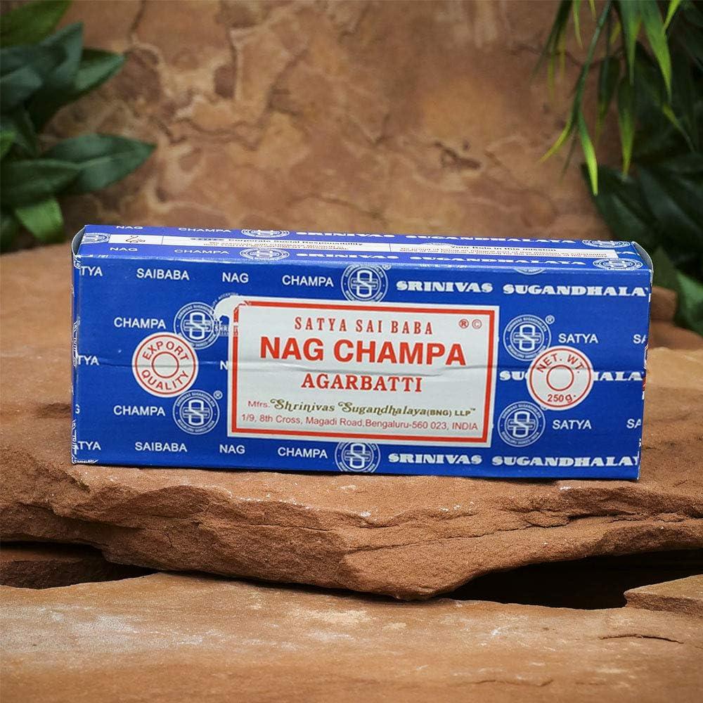 Satya Sai Baba Nag Champa Incense Sticks 15g Pack of 2