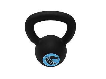 gymadvisor - Revestimiento de polvo de hierro fundido pesas rusas fuerza levantamiento de pesas Training - disponibles en diferentes pesos: Amazon.es: ...