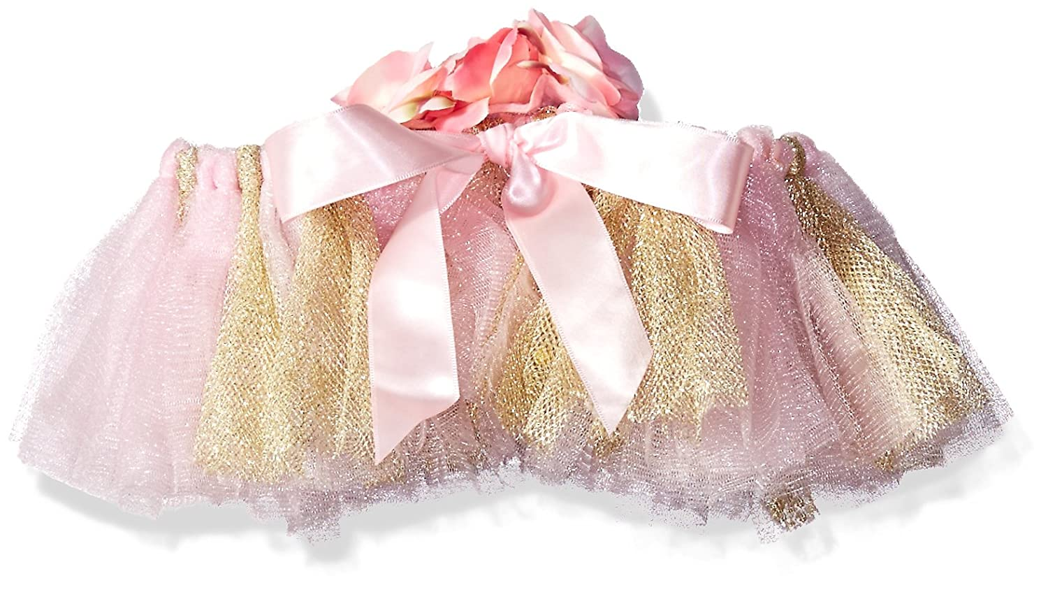 Amazon.com: Toby & Company Girls Tutu & Flower Sequin Headband 2 Pc ...
