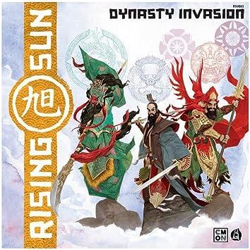 Asmodee- Rising Sun Dynasty Invasion - Expansión de Juego de Mesa con Hermosas miniaturas, Color 10302: Amazon.es: Juguetes y juegos