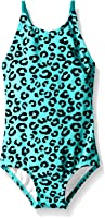 Kanu Surf Baby Girls' Shannon Leopard Print One Piece Swim Suit