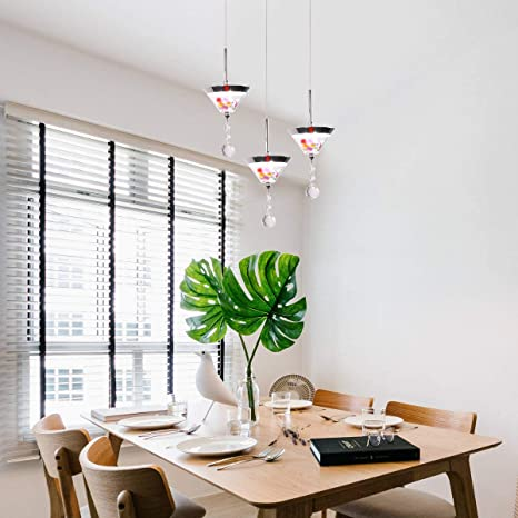 Amazon Com Chying Modern Pendant Light Mini Led Crystal