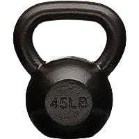 AmazonBasics Cast Iron Kettlebell Weight 45 lb