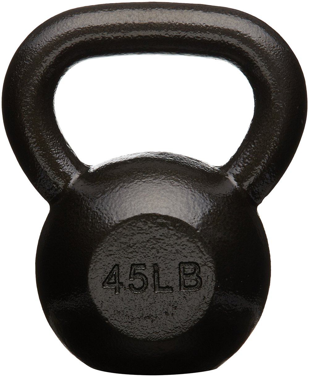 AmazonBasics Cast Iron Kettlebell, 45 lb by AmazonBasics (Image #1)