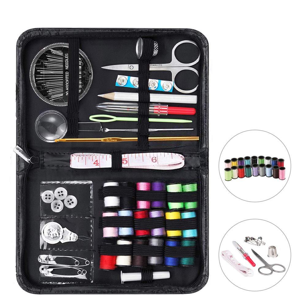 Kit de Costura,DEALUY Costura Accesorios,Mini Cajas para Costura,Repuestos de Costura