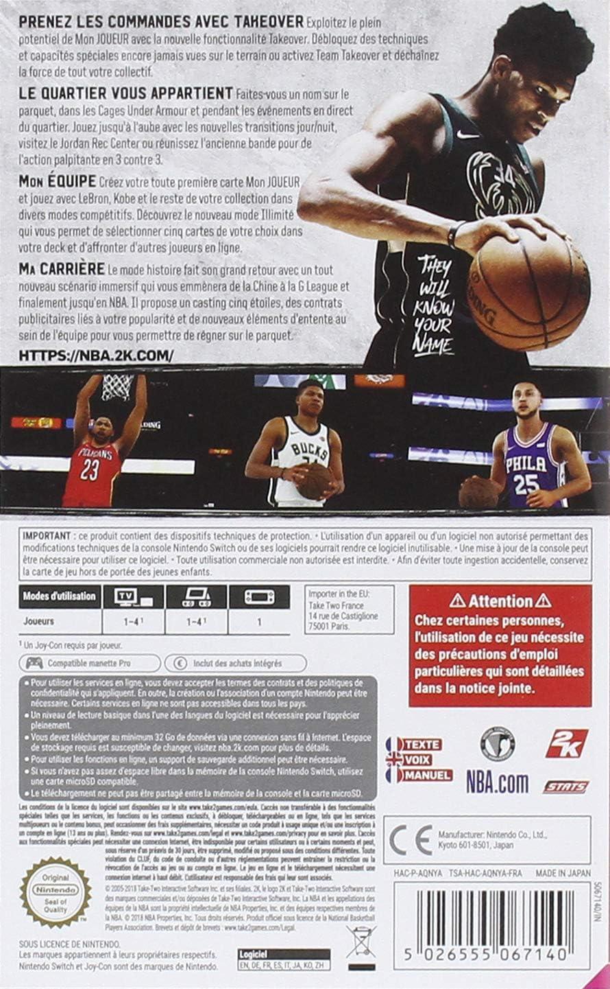 NBA 2K19 [Importación francesa]: Amazon.es: Videojuegos