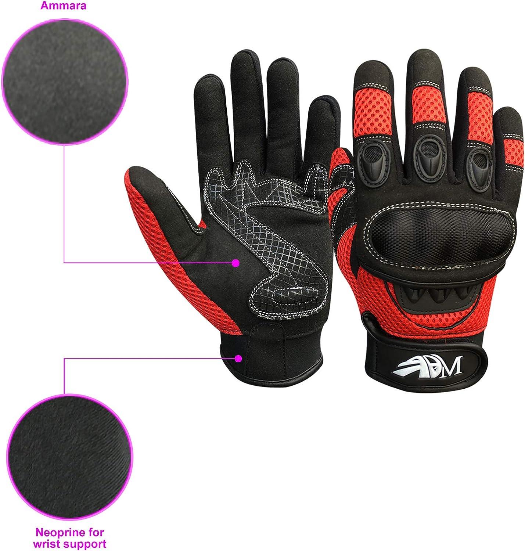 Prime Full Finger Motorbike Motorcycle Sports Riding Mountain Bike Protection Summer Gloves 9001
