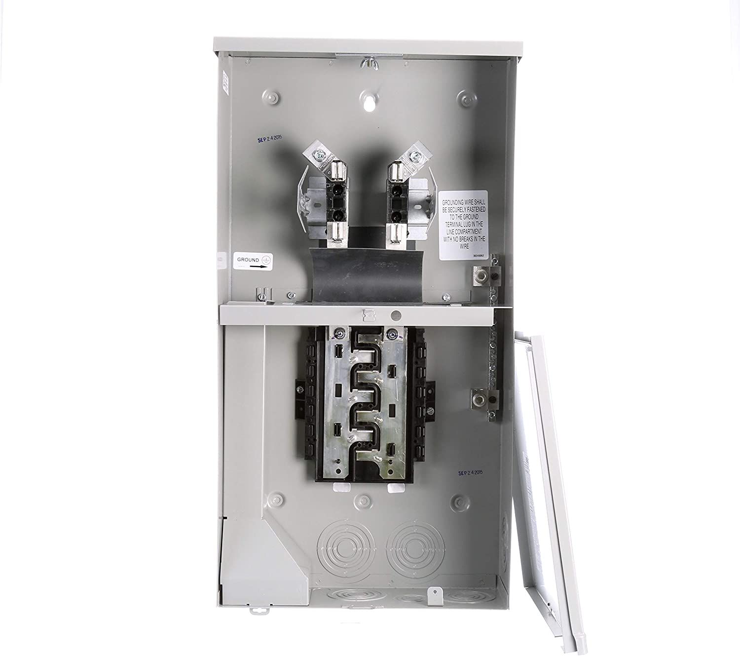 6 Circuit 12 Space 200-Amp and Main Lug Siemens MC0606L1200R Meter-Load Center Combination