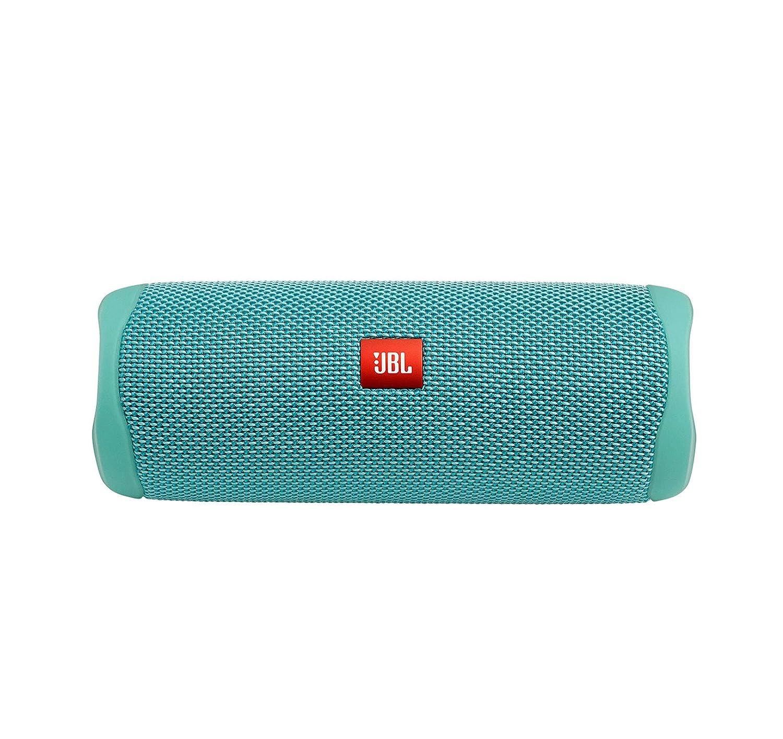Parlante Portatil Bluetooth Jbl Flip 5 Nuevo Modelo 12 Horas De Bateria Resistente Al Agua, Color verde azulado