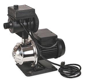 Dayton 4HFA7 Booster Pump, Stainless Steel, 3/4 HP