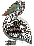 DecoBREEZE Table Fan Two-Speed Electric Circulating Fan, Pelican Figurine Fan