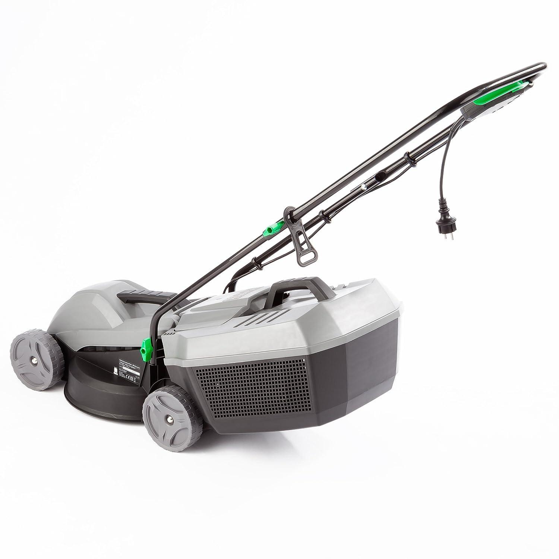 Ultranatura ER-100 - Cortacésped eléctrico (1000 W, anchura de corte de 30 cm, 3 alturas, 25 L): Amazon.es: Bricolaje y herramientas