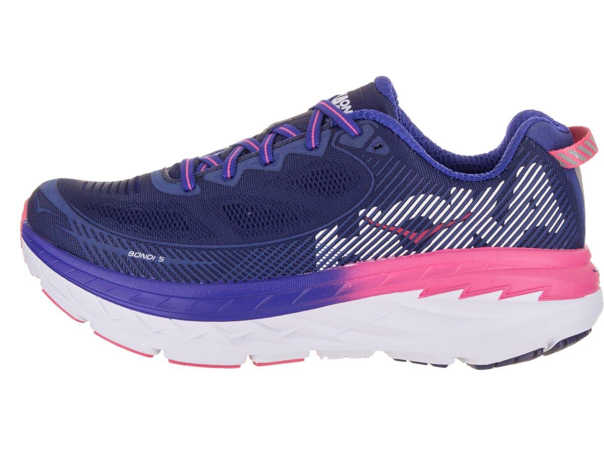 HOKA ONE ONE Women's Bondi 5 Running Shoe B072J4WDRC 8.5 D US Blueprint / Surf the Web