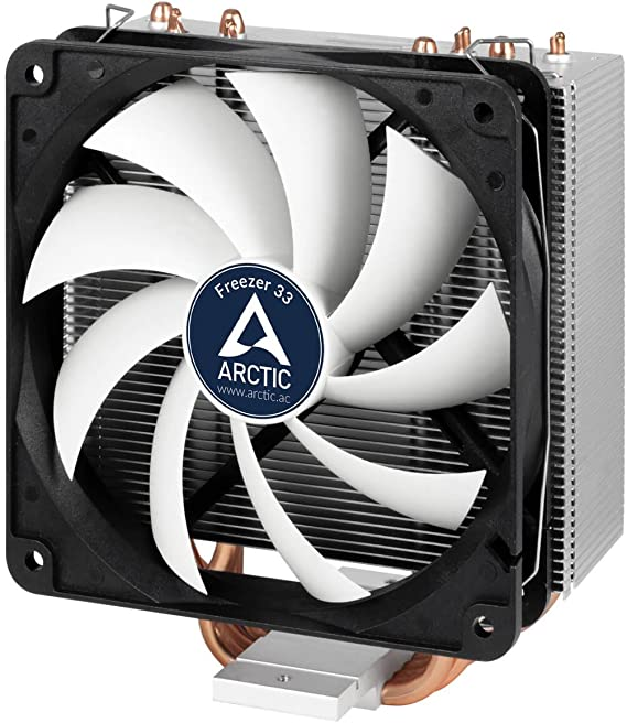 ARCTIC Freezer 33 - CPU Cooler with PWM Fan for Intel with New Fan Controller