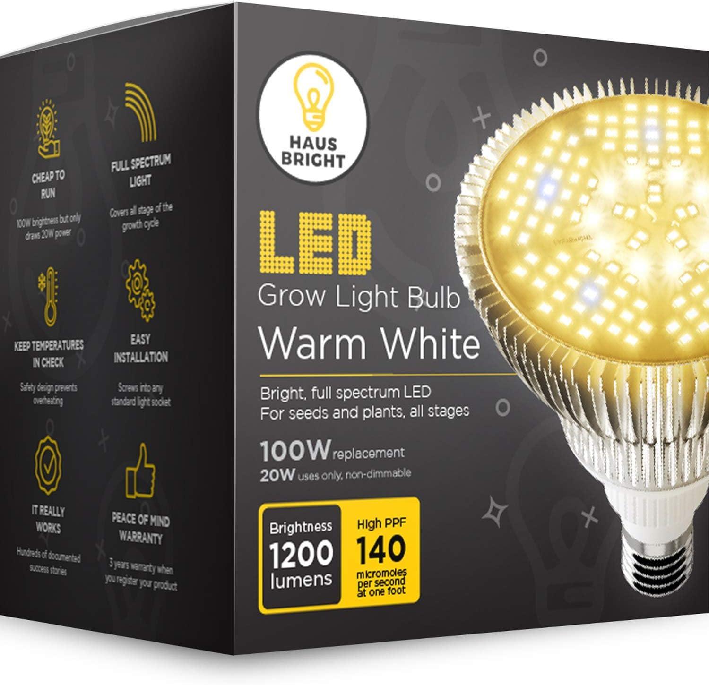LED Grow Light Bulb