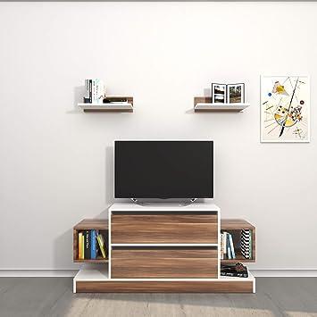 Amazon.de: Theta design by homemania TV, Mobile TV mautirius, Weiß ...