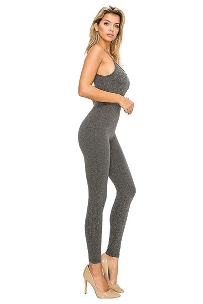 05cbc61c19dc EttelLut Bodycon Jumpsuits Rompers Bodysuits-Long Yoga Span Playsuits for  Women  Amazon.com.au  Fashion