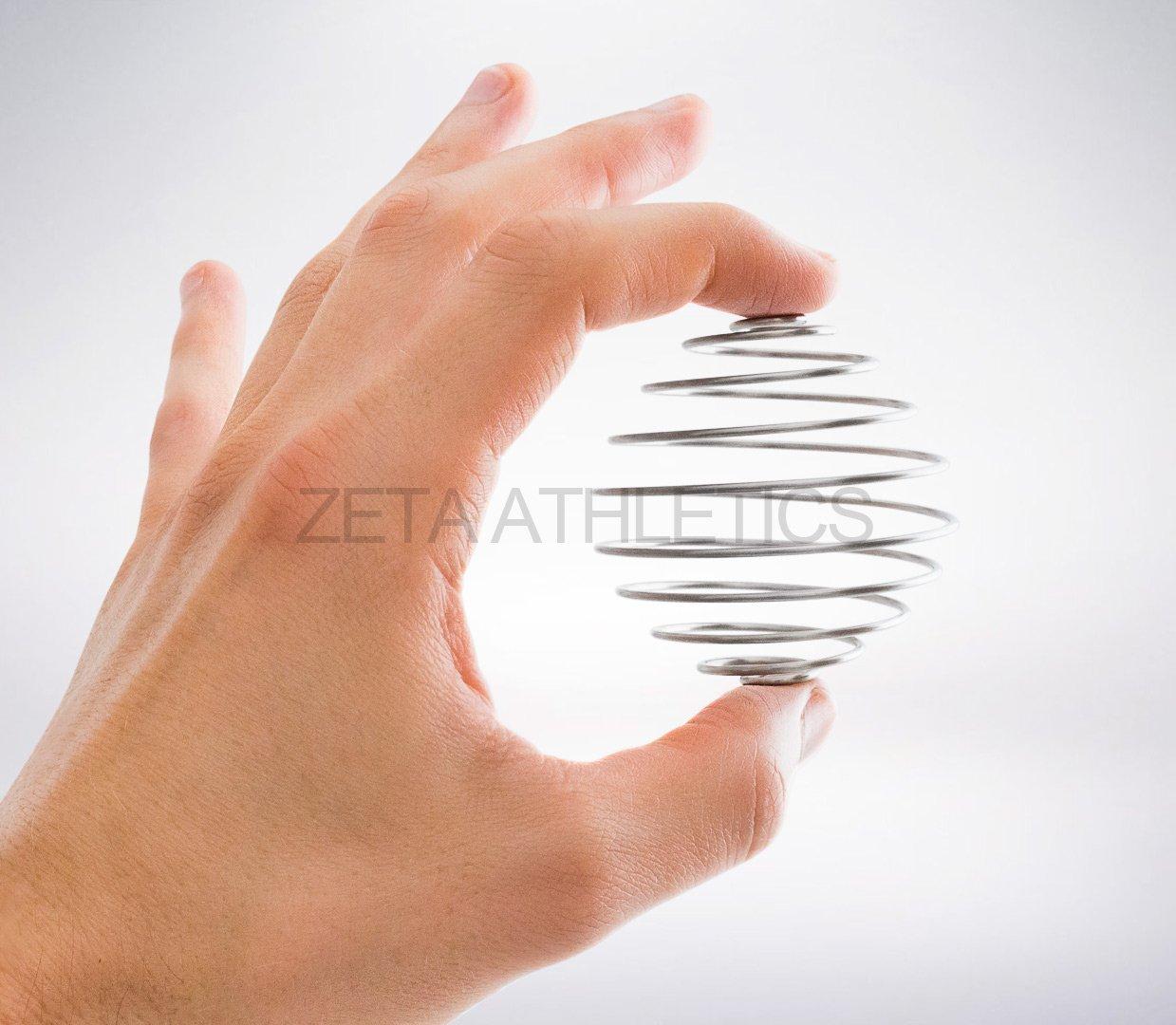 Zeta Athletics - Bola mezcladora de Mezcla, de Acero Inoxidable: Amazon.es: Deportes y aire libre