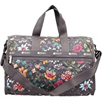 LeSportsac Joy Garden Large Weekender Crossbody Bag + Cosmetic Bag, Style 7185/Color F439, Colorful Classic Floral…