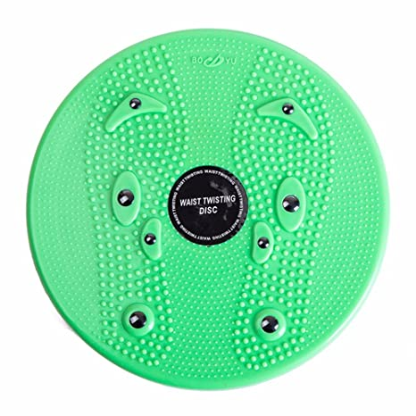 Embiofuels(TM) Practical Twist Waist Torsion Disc Board Magnet Aerobic Foot Exercise Yoga Training