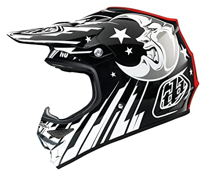 Troy Lee Designs Ouija Air Off-Road/Dirt Bike Motorcycle Helmet - Black/