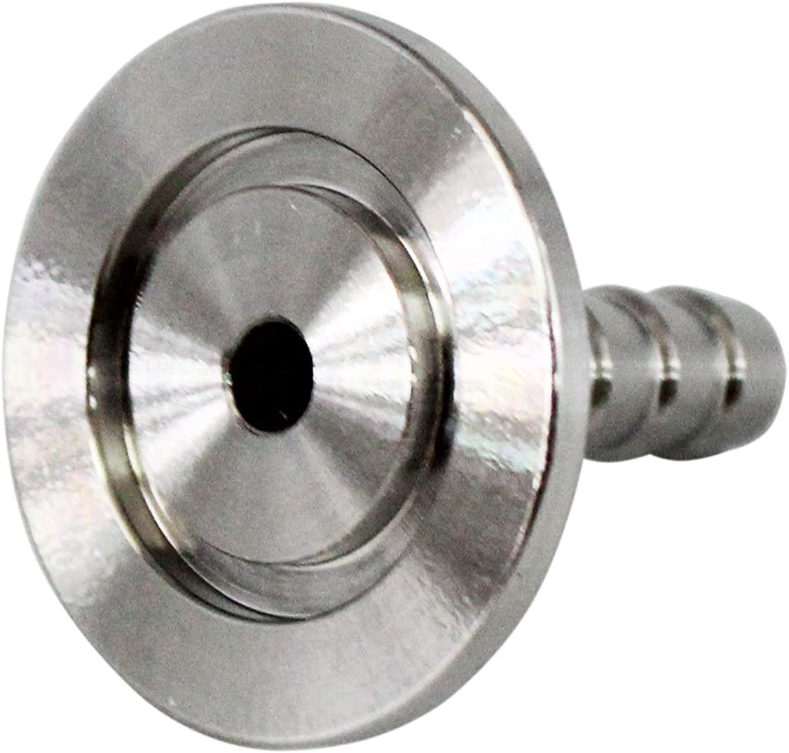 KF25-3//8 R HFS Vacuum Fitting to Hose Adapter Flange