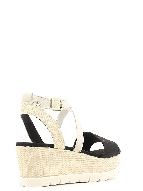 Plate forme Shoe FW56820748 Tommy Hilfiger Sandales Femmes 990: : Chaussures et Sacs
