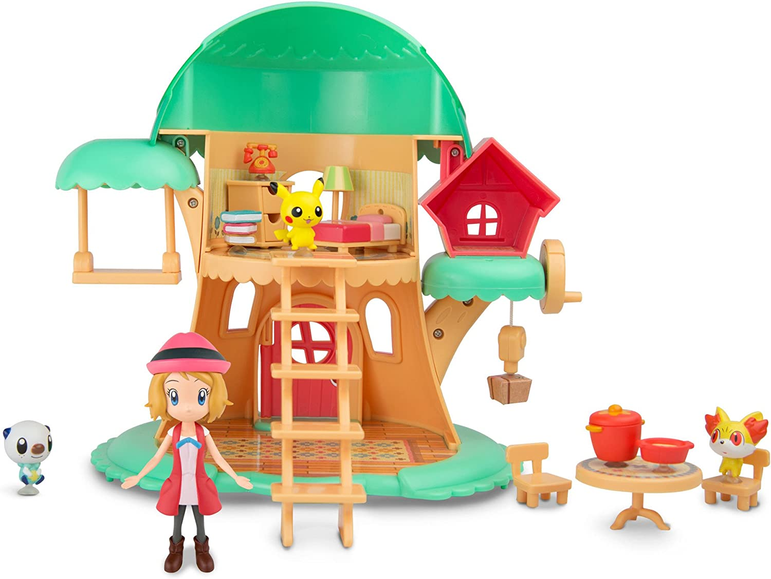 Pokémon Petite Pals Escape In The Forest Playset
