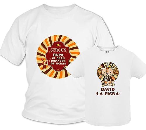 Regalo día del padre camiseta papá personalizada + Body o ...