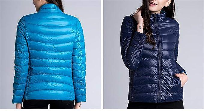 a341467eb Amazon.com: New Winter Women Down Jacket Ultra Light 90% White Duck ...