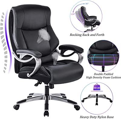 REFICCER Big & Tall High Back Executive Office Chair