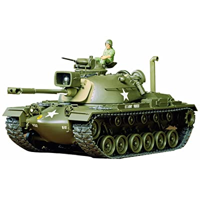 Tamiya 35120 1/35 US M48A3 Patton Tank: Toys & Games