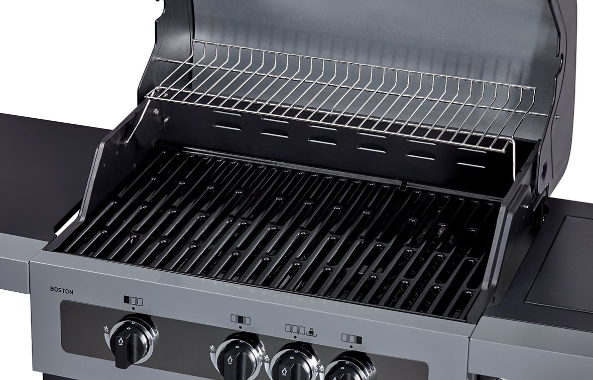 Enders Gasgrill Boston Black 4 Ik Zubehör : Aldi süd enders boston black ik gasgrill im angebot