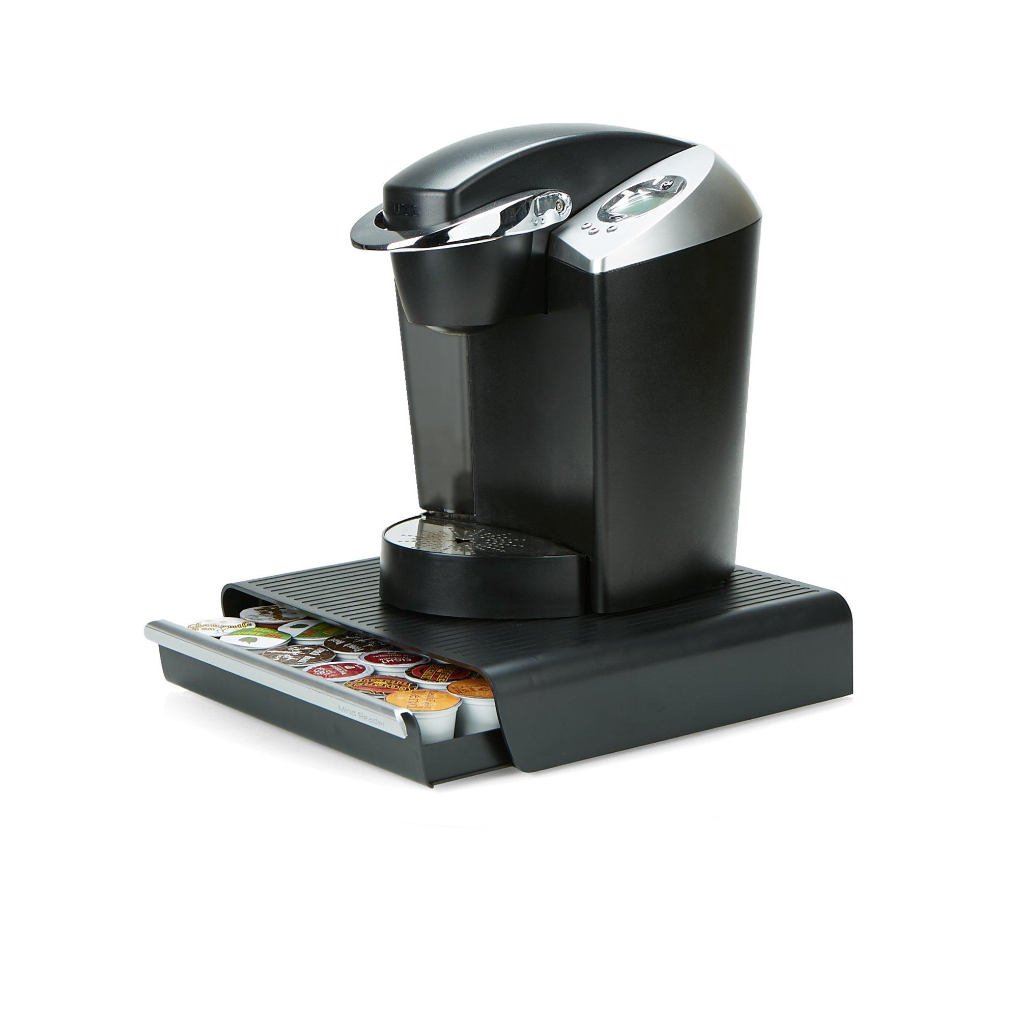Mind Reader CAP36T-BLK Hero' Coffee Pod Drawer Storage, K-Cup Dolce Gusto CBTL Verismo, Black, One Size 2 by Mind Reader (Image #3)