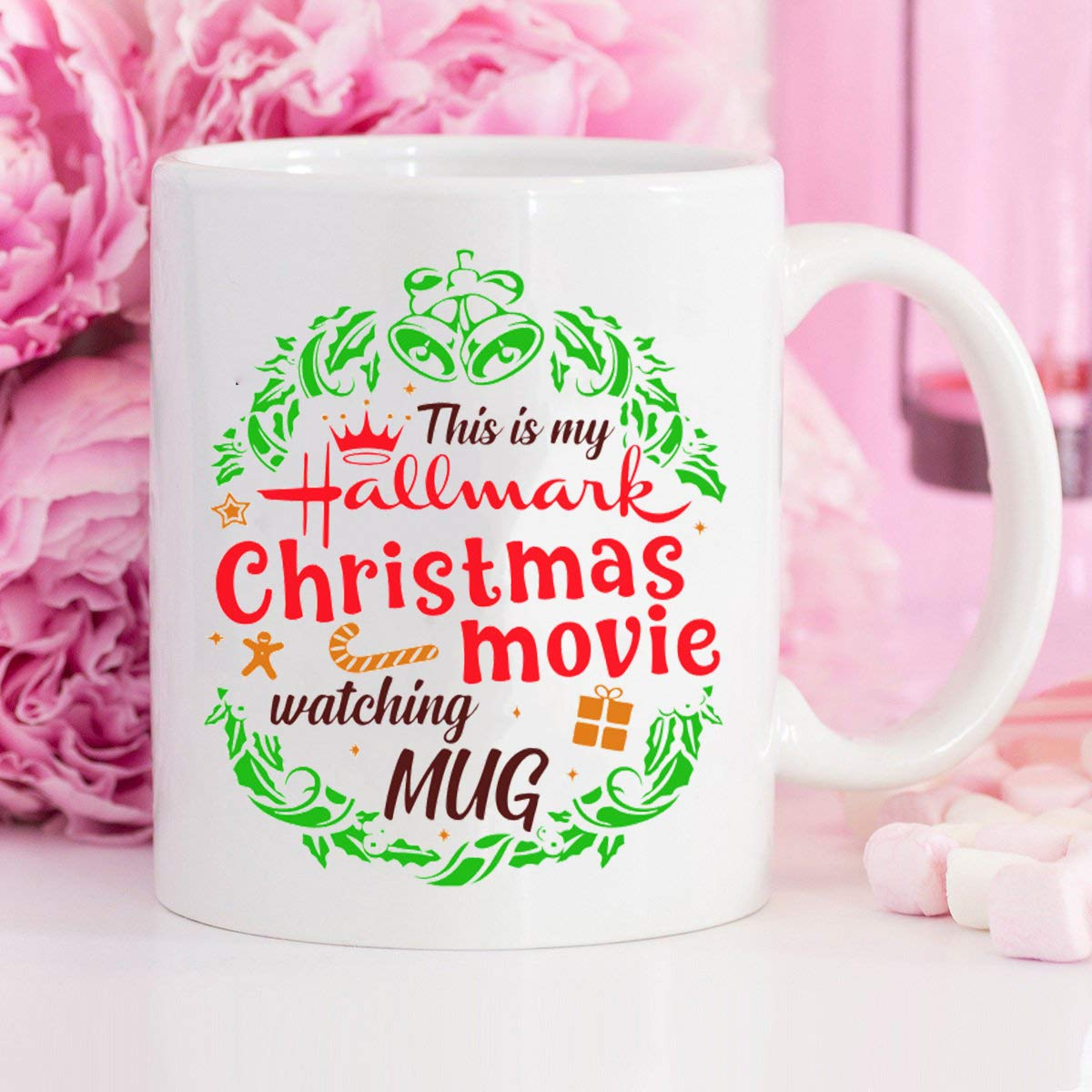 This Is My Hallmark Christmas Movie Watching mug for Hallmark Christmas Gift 11oz