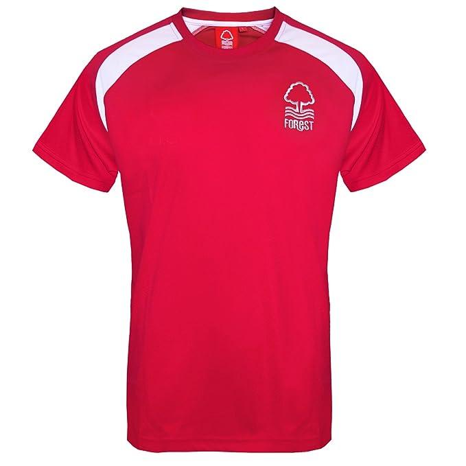 Nottingham Forest FC - Camiseta oficial para entrenamiento - Para hombre -  Poliéster  Amazon.es  Ropa y accesorios 73391ceae8264